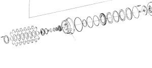 Комплект гибких пластин конвертера, диски системы блокировки (ГТР Sandvik)