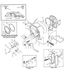 рисунок из каталога корпуса трансмиссии Спайсер 32000 Sandvik
