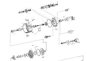 Статор, ротор, турбина гидротрансформатора DANA CL8500 для Сандвик