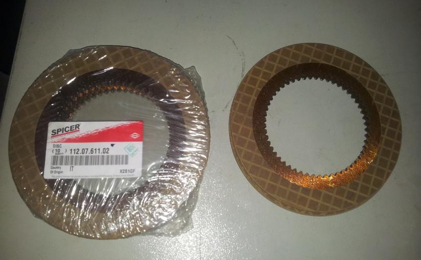 фрикционные диски спайсер