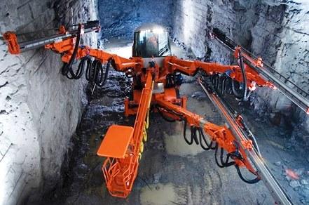 шахтная спецтехника