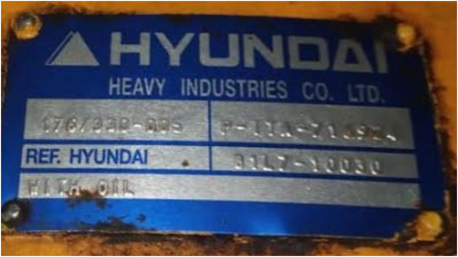 Мост фронтального погрузчика Hyundai