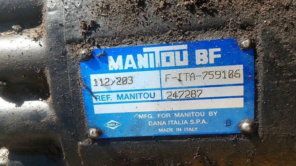 шильда моста Manitou