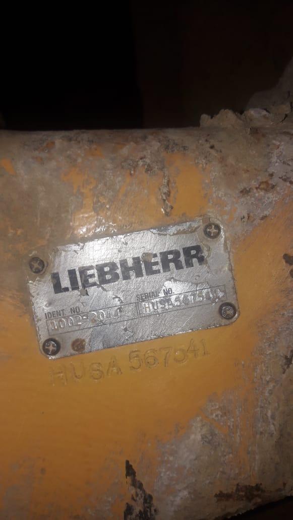 мост крана Либхерр